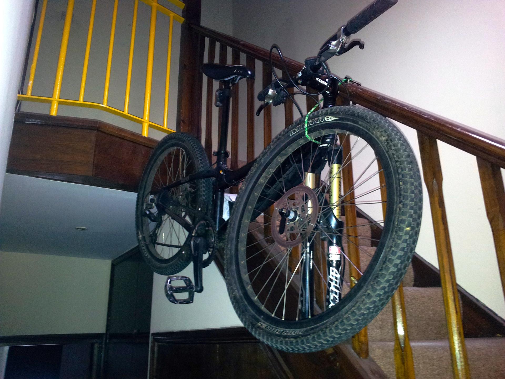 Diy Bike Storage Solution Mark Robinson