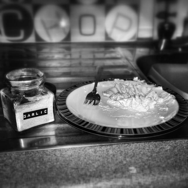First attempt at home made garlic bread. #POTD