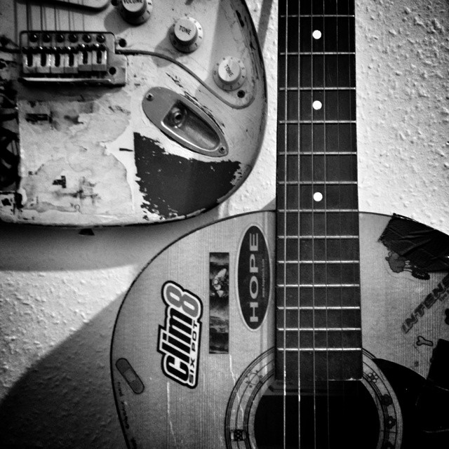 Old guitars #POTD