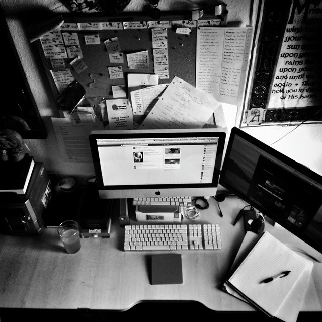 Workstation at home #POTD
