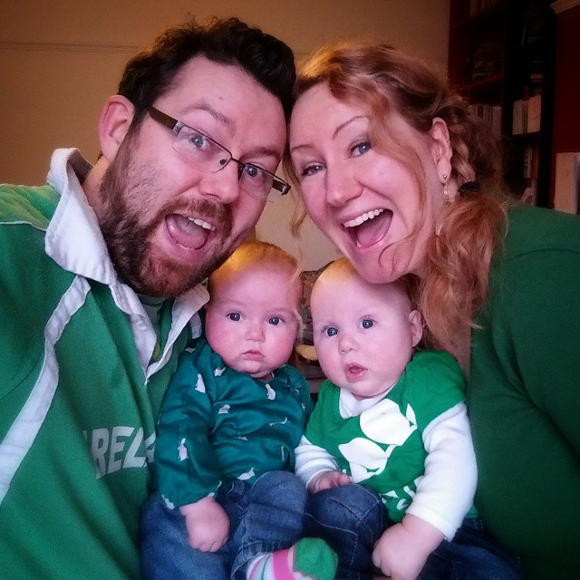 Happy St.P's from the Robinson family. #POTD