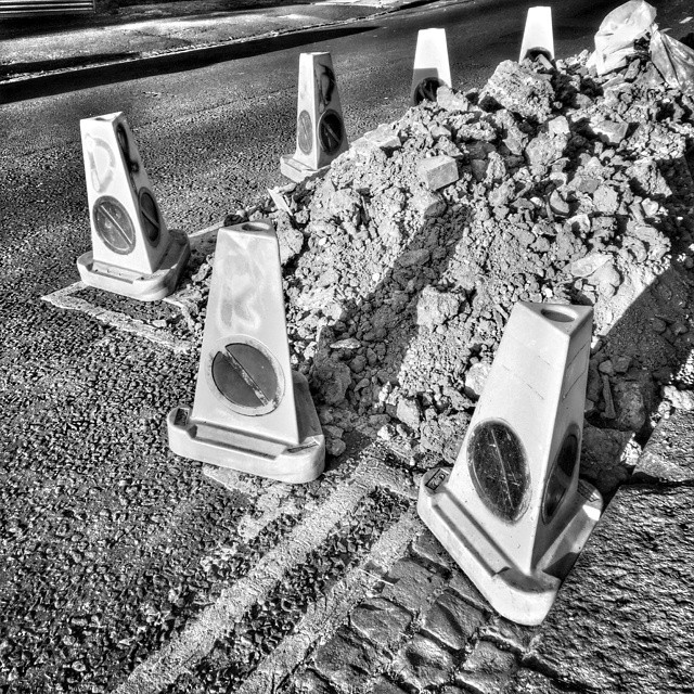 Protected rubble. #POTD