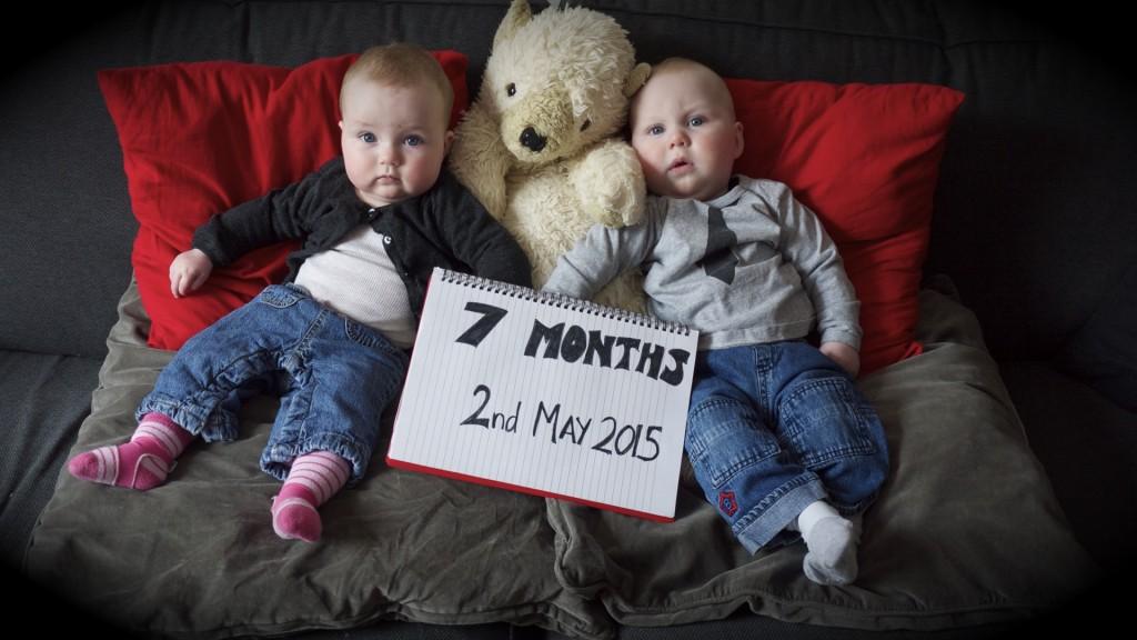 Twins7Months
