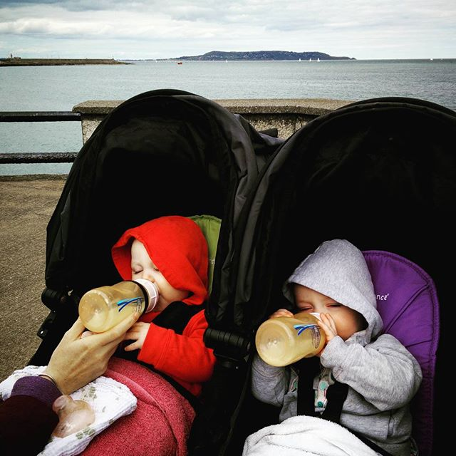 Pre #dunlaoghairepier lunch before our #Teddys ice-cream #POTD