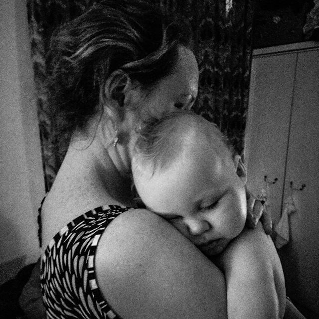 Wife and son #POTD