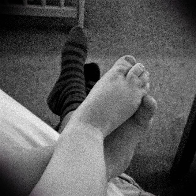 Like father like son. #CrossedFeet #POTD