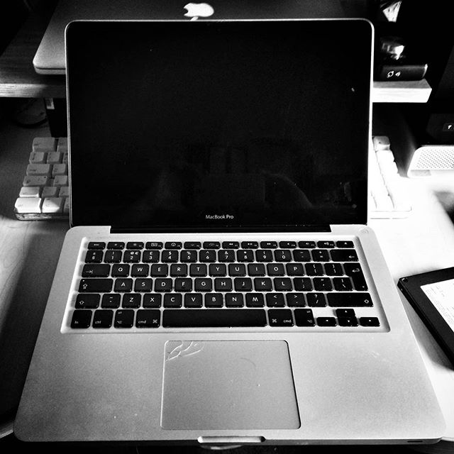 To the #Macbook scrapheap you go old friend. You served us well. #Deadbook #Apple #SparesOrRepairs #POTD