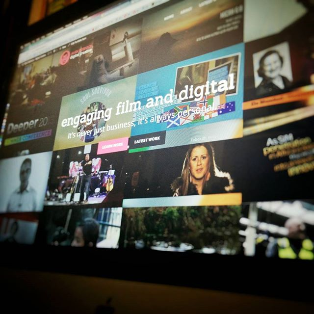 Just relaunched digitalcreative.tv this morning. Check it out. #WordPress #shineythings #POTD
