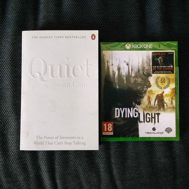 My amazing wife @ruthrobinson2612 knows me too well. #BirthdayHaul #susancainquiet #susancain #xboxone #DyingLight #Gamer #POTD