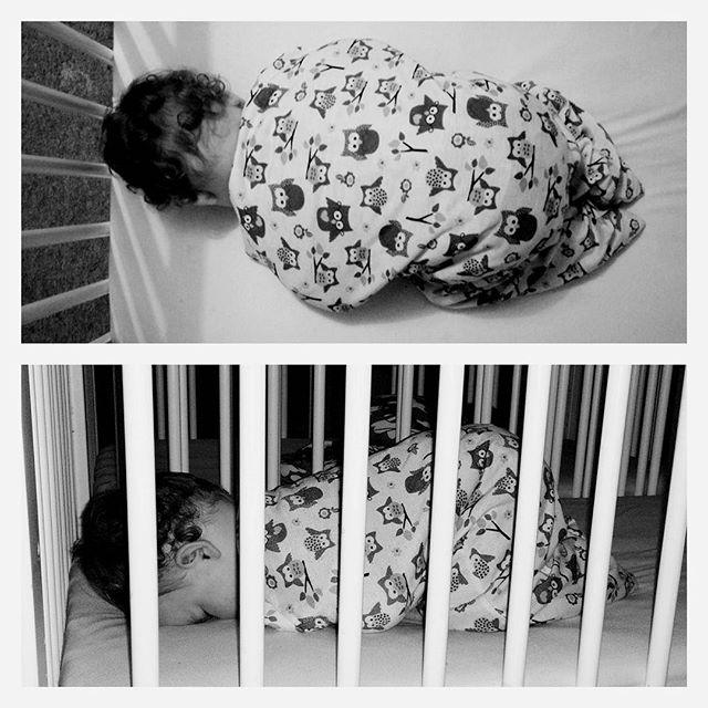 How my baby girl sleeps. #FaceDown #SleepingBaby #SleepingBeauty #cutie #munchkin #zipadeezip #POTD