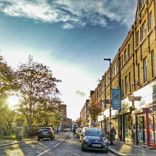 #Sunset on #ChurchfieldRoad #ActonStreets #London #Acton #POTD