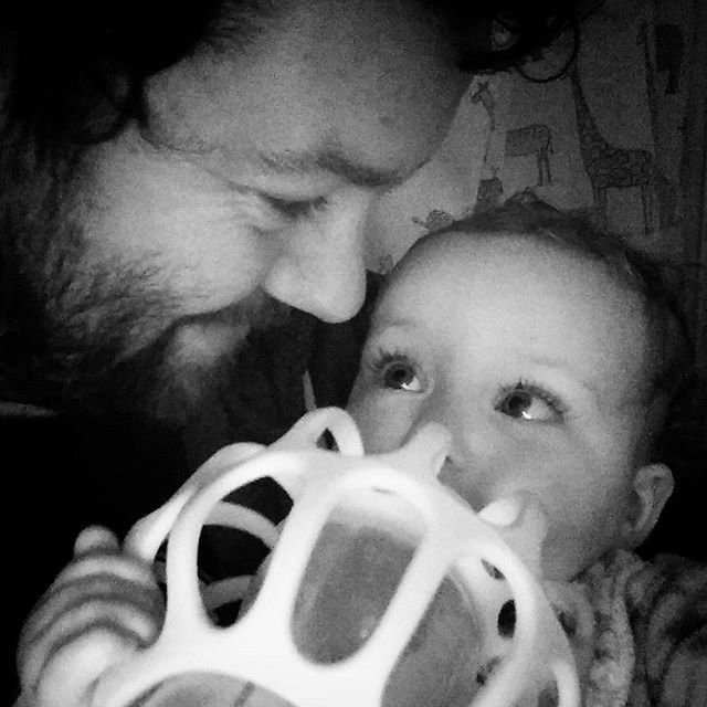 To think that God loves me more than I love this little treasure is mind boggling. #ThisIsLove #babygram #DaddyDaughter #BedTime #blackandwhite #POTD