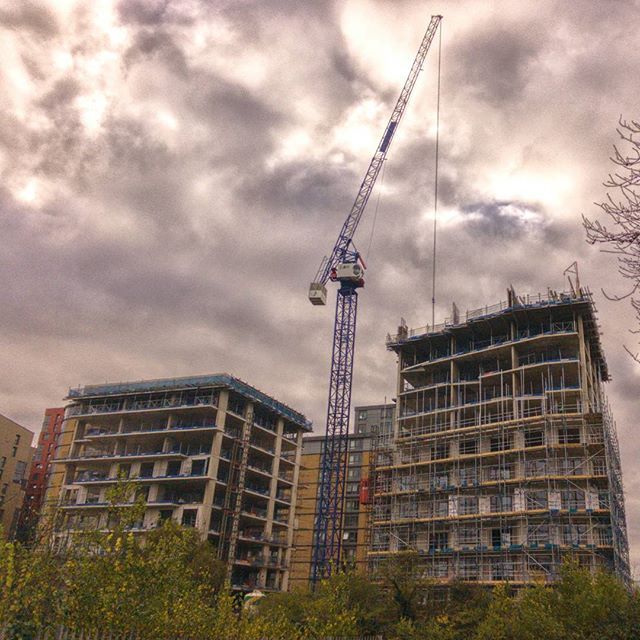 More buildings going up, up and up. #ChaseRoad #ActonStreets #construction #highrise #POTD