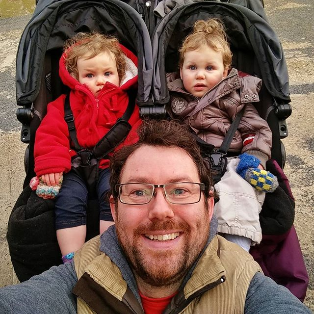 Just home from a lovely afternoon with my babies while @rufus2612 is out doing girly things. We've been to see Auntie Angie and Uncle Andrew, we've had a walk around #Acton we've been on the swings, the slides and the spinny-abouty-thingy and now we're home having tea. #twinsofinstagram #selfie #Parenting #ParentingLikeABoss #TwinHustle #POTD