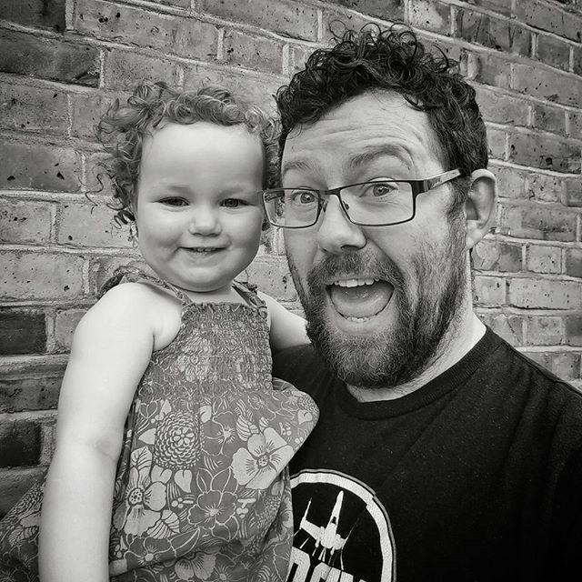 Just cannot express how much I totally love this little one. She brings us so much joy and happiness and snot...yup lots of snot. #daddysgirl #dadsofinstagram #twinsofinstagram #SnotMonster (OK so currently no one in the house is leaking from the nose but normally...) #AppleOfMyEye #cuteoverload #nomnomnom #POTD