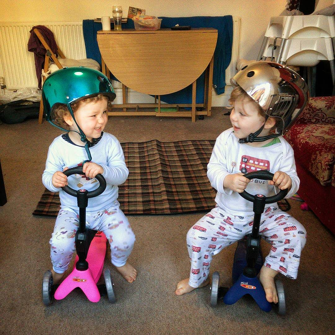 to our gorgeous little on their second birthday. for the gift that they are, the love and joy they bring and the challenges we faced since their arrival!  it's been amazing!   @microscooters @rufus2612
